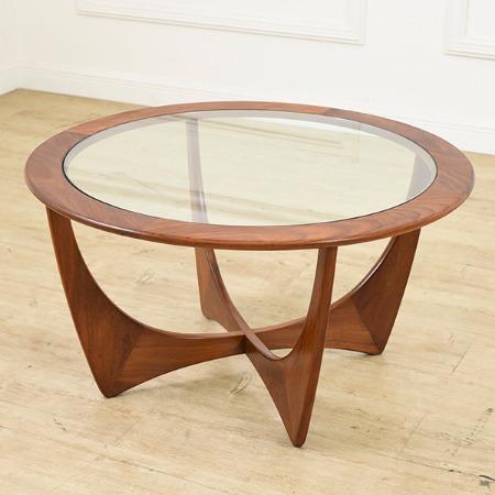 ジープラン G-PLAN (エベネゼル・グーム Ebenezer Gomme) / UK G-PLAN サーキュラーテーブル Occasional Table (8040)
