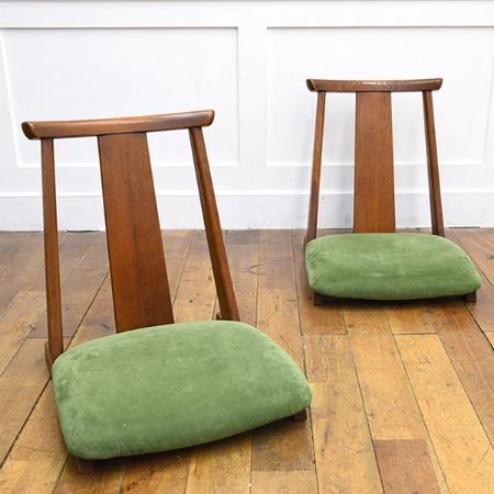 大日家具工業 座椅子 2脚セット
