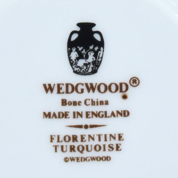 WEDGWOOD フロレンティーンターコイズ6点セット カップ&ソーサー+プレート
