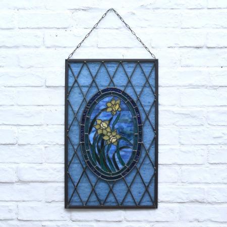 ステンドグラス 壁掛けオブジェ