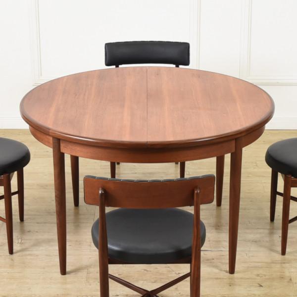 ジープラン G-PLAN (エベネゼル・グーム Ebenezer Gomme) / UK G-Plan エクステンション ラウンドテーブル