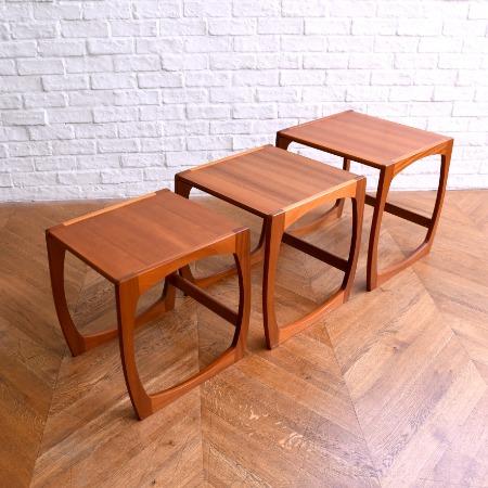 北欧スタイル ヴィンテージ ネストテーブル