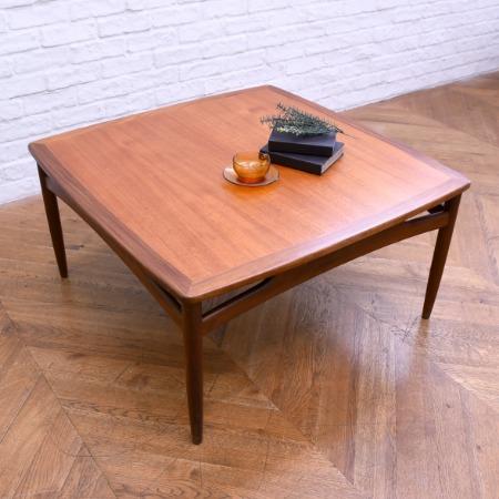 G-PLAN brasilia コーナーテーブル (ソリッドチークテーブル)