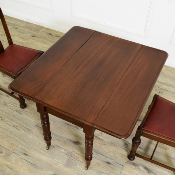 英国アンティーク マホガニー ペンブロークテーブル