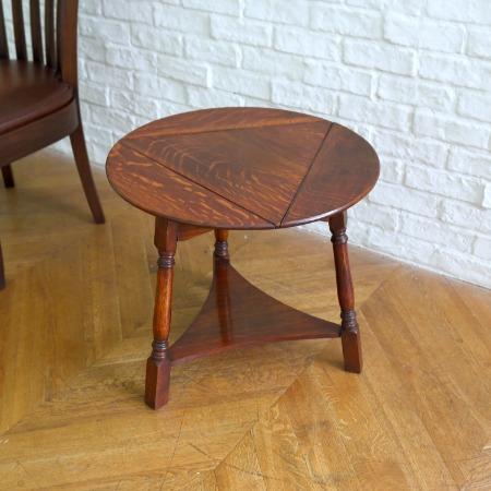 英国アンティーク バタフライサイドテーブル