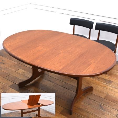 G-PLAN Fresco ホエールレッグ ダイニングテーブル 4393