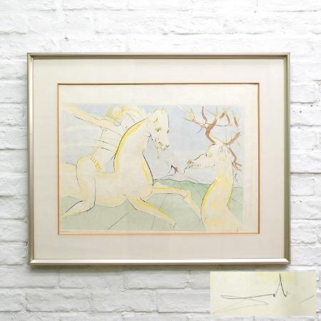 サルバドール・ダリ リトグラフ 額装