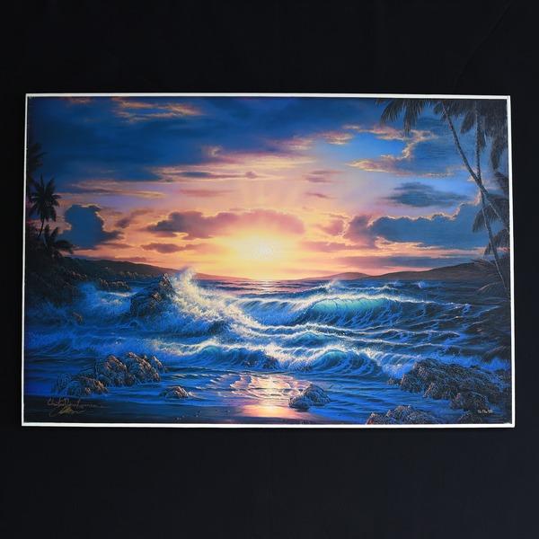 クリスチャン・ラッセン「Island Romance」