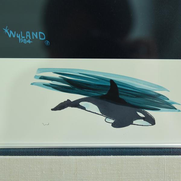 WYLAND「ORCA TRIO」版画