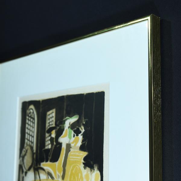 アンドレ・ブラジリエ「不思議な祭りⅡ」リトグラフ