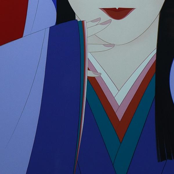 鶴田一郎「春日局(美人画)」シルクスクリーン 額装