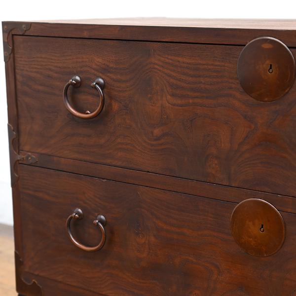 明治期 時代箪笥 鉄脚リメイク
