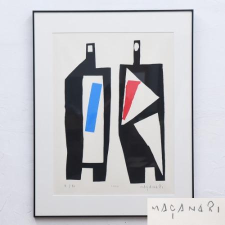 村井正誠 [ 男と女 ] リトグラフ 1991年 18/80 限定