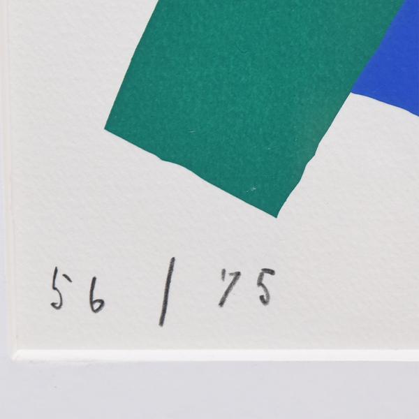 村井正誠 [ 顔 ] リトグラフ 1983年 56/75 限定