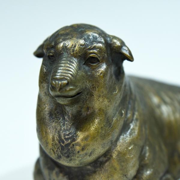 金工師 中野美海 銅銀製羊置物