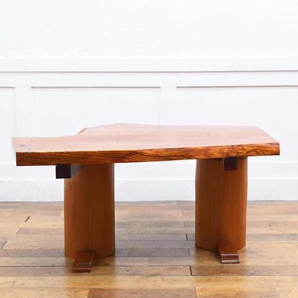 #29757 欅無垢材 一枚板 テーブル コンディション画像 - 2
