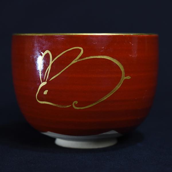 杉田祥平 色絵御題 茶碗
