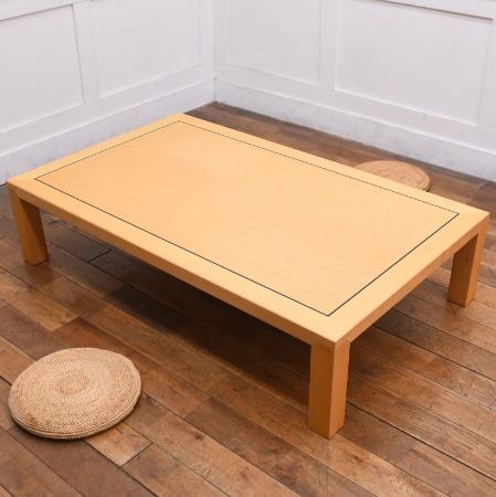 天童木工 バーズアイメープル ローテーブル