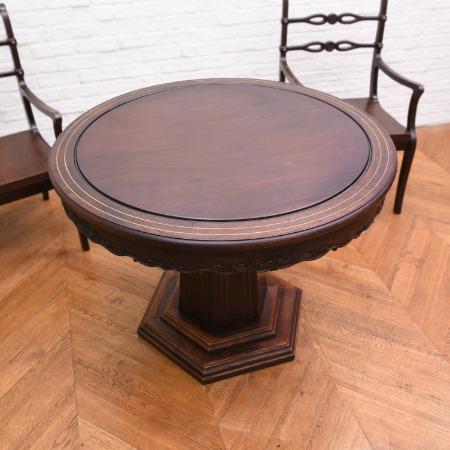 バーミーズローズウッド リージェンシー ラウンドテーブル