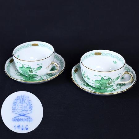 インドの華 (1726) / コーヒーカップ&ソーサー 2客