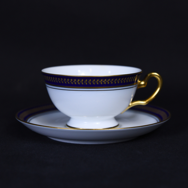 大倉陶園 ゴールデンウィング ティー・コーヒー碗皿6客セット