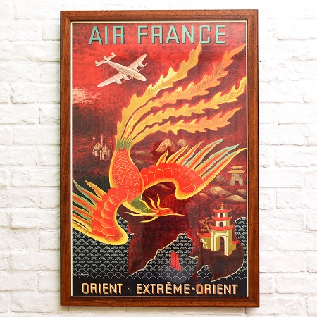 Air France / Orient Extreme-Orient 額装