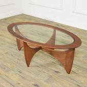 G-PLAN オーバルコーヒーテーブル (astroオーバルテーブル 8050)