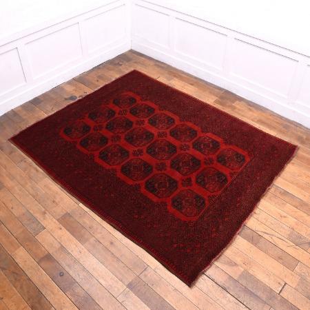 トルクメン 手織り絨毯