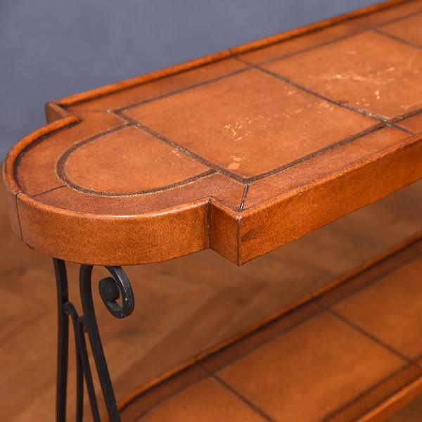 スパニッシュカントリー サイドテーブル