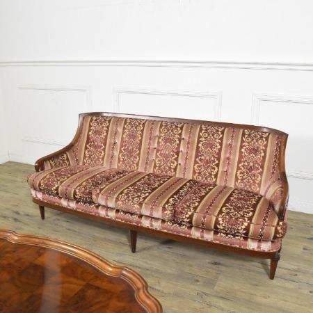Upholstery ローバックトリプルソファ