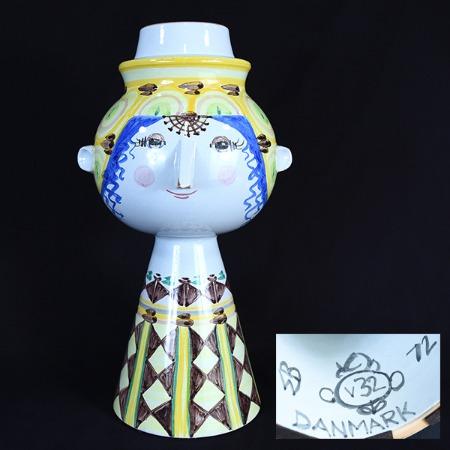 ビョルン ヴィンブラッド作 陶器置物
