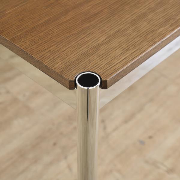 USM Haller Table ケーブルダクト付き オークブラウン