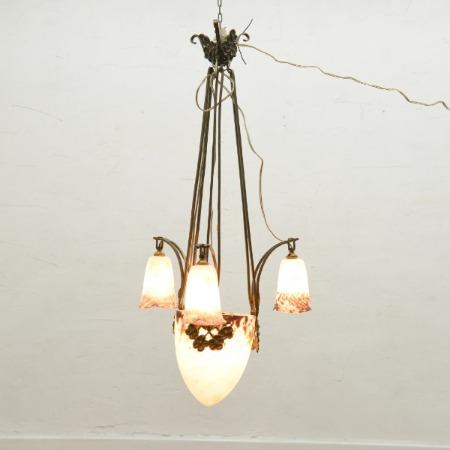 アールヌーボースタイル 吊り照明