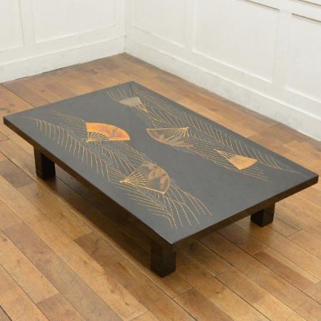 日本伝統工芸 輪島塗り座卓