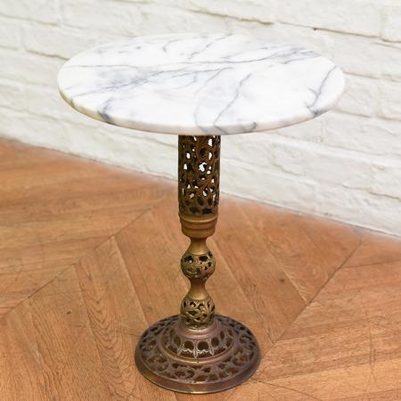 大理石 サイドテーブル