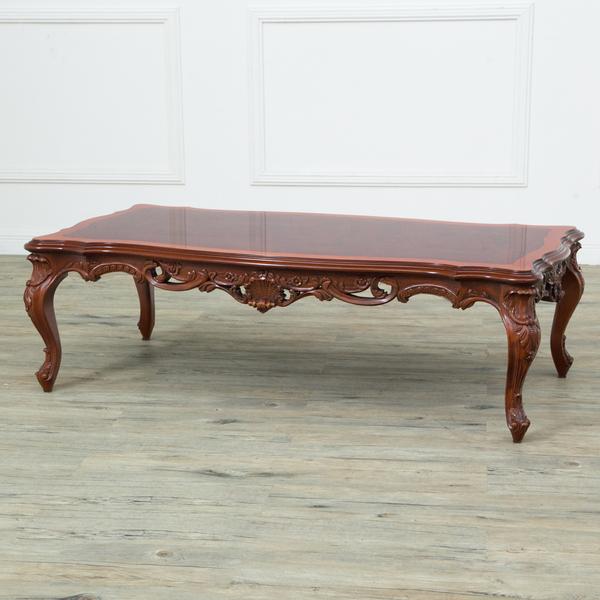 西洋クラシック ロココ様式 センターテーブル