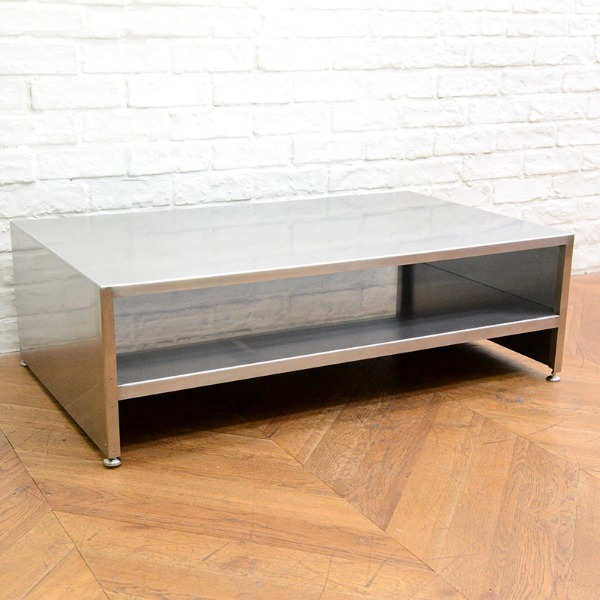 ステンレス製 センターテーブル
