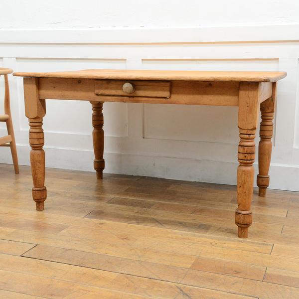 オールドパイン アンティークテーブル