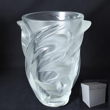ラリック LALIQUE / France Lalique マルティネ 花瓶
