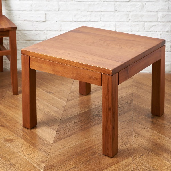KONISKA チーク無垢材サイドテーブル