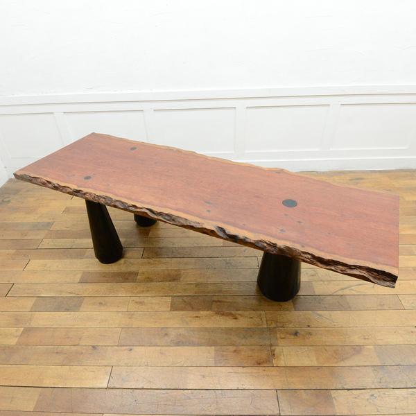 ブビンガ 一枚板 テーブル