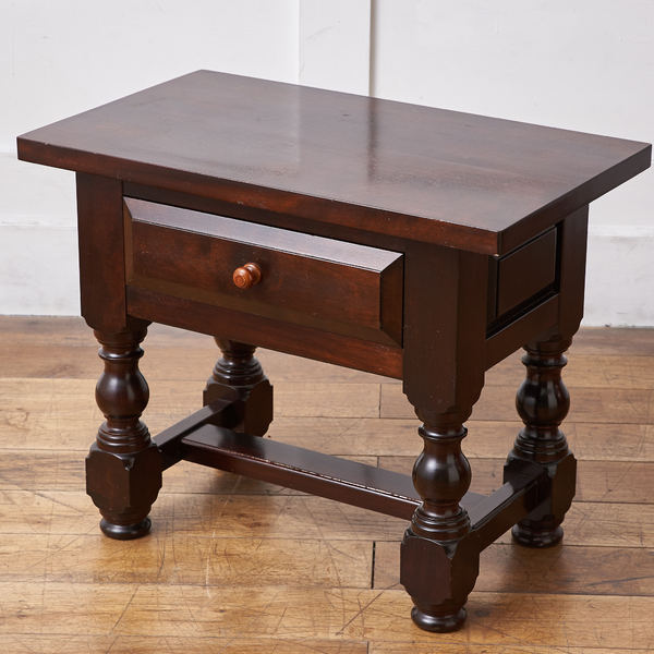 松本民芸家具 サイドテーブル