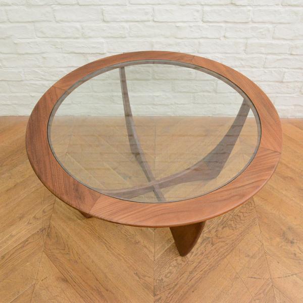 ジープラン G-PLAN (エベネゼル・グーム Ebenezer Gomme) / UK G-PLAN サーキュラーアストロテーブル Occasional Table (8040)