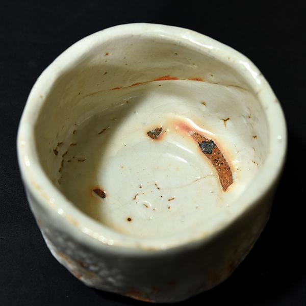 豊場惺也 大萱窯志野茶碗 共箱布栞付き