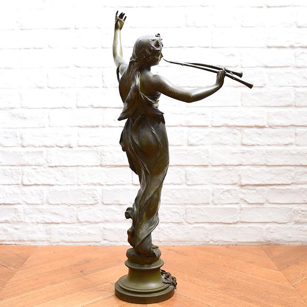 Eugene Marioton [ Muse des Bois ] ブロンズ像