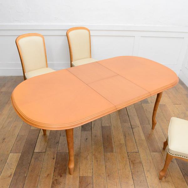 ベルサイユ グレース 伸長式ダイニングテーブル