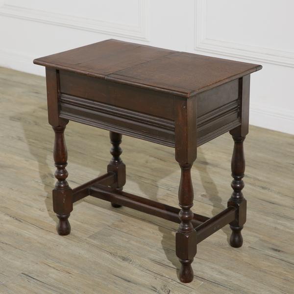英国アンティーク ソーイングボックス サイドテーブル