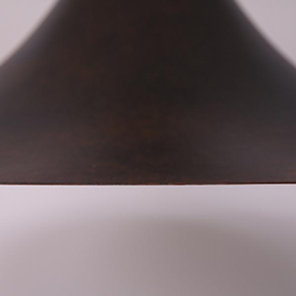 #34938 Rona ペンダントランプ / M サビ加工 ブラック コンディション画像 - 2
