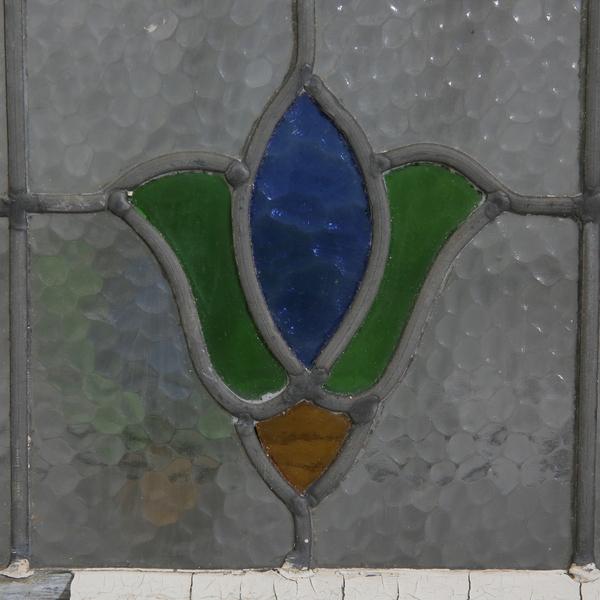 英国アンティーク アールデコ ステンドグラス