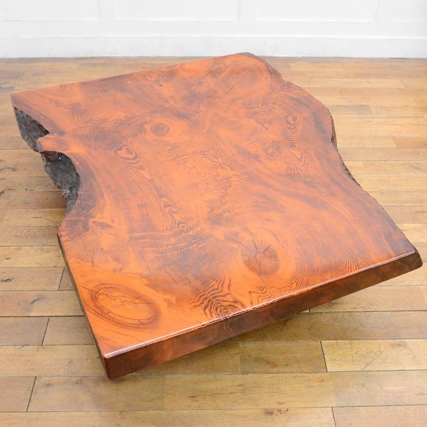 肥松無垢材 座卓